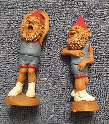 Tom Clark Gnome Pair Of Basketball Players