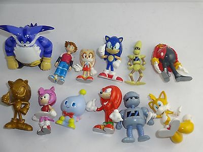Sonic X - PART 1 11 TYPES IN TOTAL PLUS SECRET 1 TYPES FIGURE COLLECTION O315G