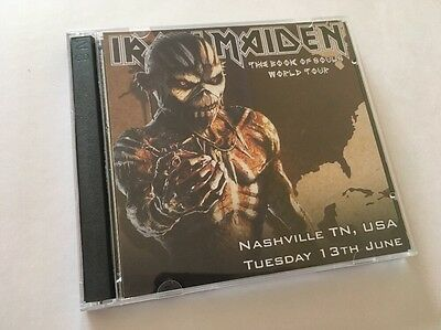 Iron Maiden Double CD Nashville, Tennessee USA The Book Of Souls Tour 2017