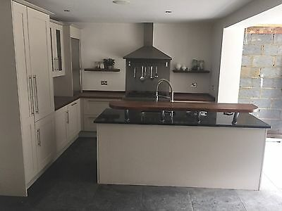Anthony Mullan Bespoke Fitted Kitchen + Granite & Wood Worktops (Cabinets Units)