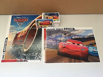 Topps CARS 3 Full Base set of 96 character speedster and puzzle trading cards