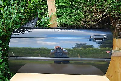 Bmw E36 Coupe  Front Passenger  Side Door O/s In Black