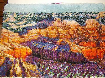 Grand Canyon Latch Rug/craftway's/ready To Hang On Wall/use As Rug/soft Ac