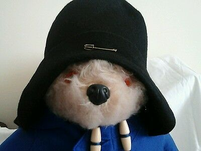 NEW BLACK  Hat For  Your Gabrielle Paddington Bear( See other listings)