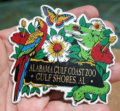 Alabama Gulf Shores Zoo Magnet
