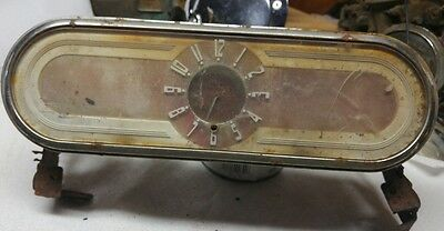 1946-1948 Oldsmobile Gloveboxdoor,clock Assembly With Hinges