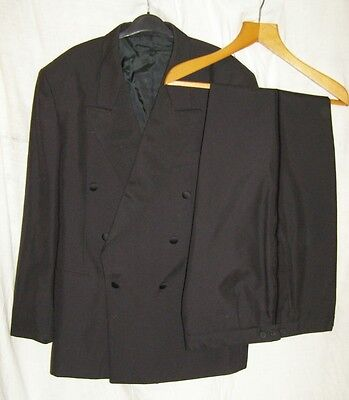 Nicholas Rowe Double Breasted Dinner Jacket and Trousers 44S