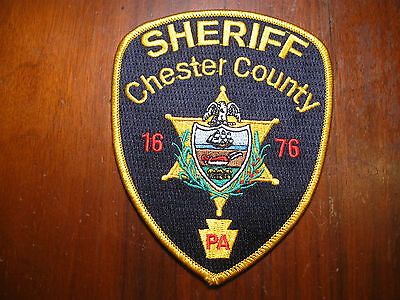 Chester County Pennsylvania Sheriff/police Patch