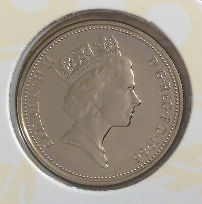 1986 5p, BU, available from sets  only, not released into general circulation