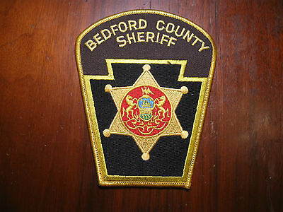 Bedford County Pennsylvania Sheriff/police Patch