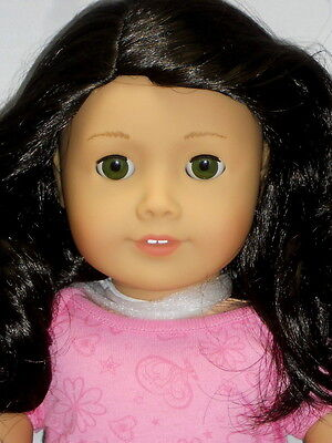 "My American Girl #41 - 18"" Truly Me Brown Black Hair Green Eyes - New In Box"