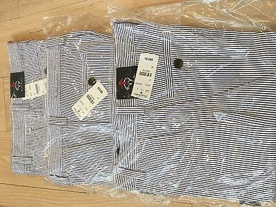 brooks brothers boys seersucker pants 12 NWT Blue