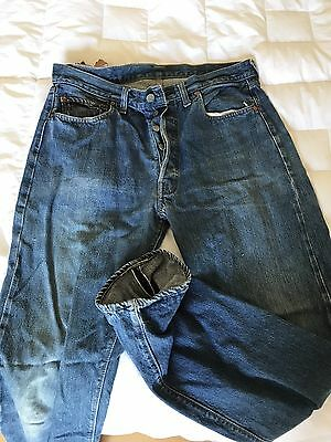 VTG Levi's 501 Redlines Single Stitch Jeans 34x32