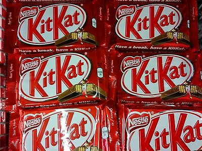 LOT OF 8 FRESH NESTLE KitKat 45g. CHOCOLATE BARS. A CANADIAN ICON.