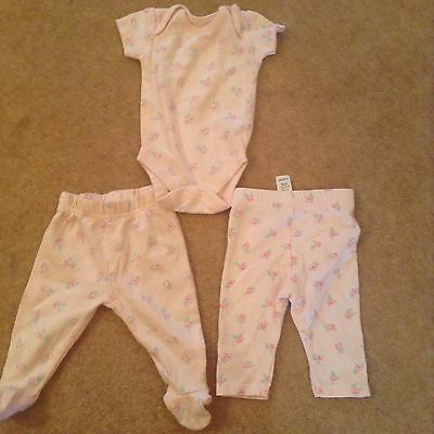 baby girls clothes 0-3 months Set NWOT