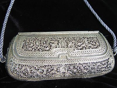 Filigree Vintage Sterling Silver Purse