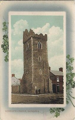 Very Nice Rare Old Postcard - Seatown Castle - Dundalk  - Louth C.1912