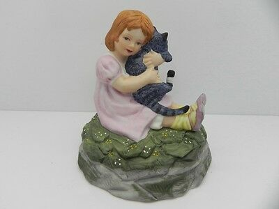 Collectable Staffordshire Fine China Childs Play Figurine By Christopher Wren