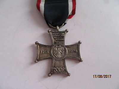 Poland - 20th Lithuanian–Belarusian Division Commemorative cross