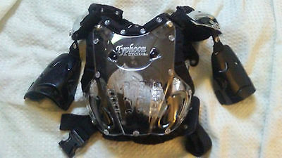 Typhoon  Mx Chest Protector Unisex Ajustable Youth Extra Small/small Mx/atv-Low$