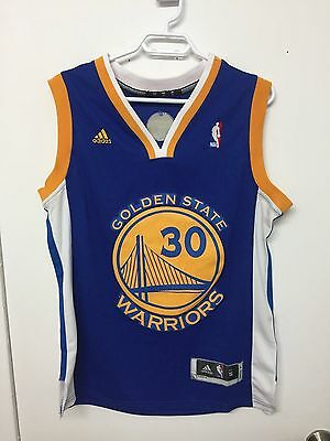 Steph Curry Jersey #30 (Golden State Warriors) Mens Small