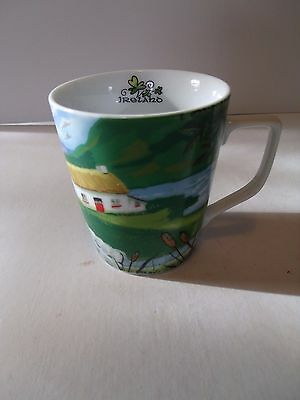 Vintage ALLIED Country Scene IRELAND Cup MUG - 8 oz.