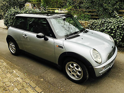 2002 Mini Cooper Hatchback 1.6 Silver Automatic