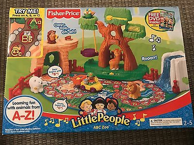Fisher Price Little People Learning Zoo - No Sound!! Sold As Is.