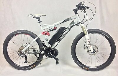 36v250w Dual Suspension Corratec AirTech Glacier Mid Drive Electric Bike eBike