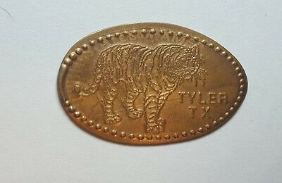 Tyler TX elongated coin/smashed coin/stretched coin