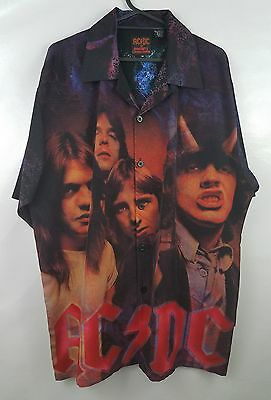 AC/DC Dragonfly Rockware Highway To Hell Concert Shirt *RARE* Mens Med