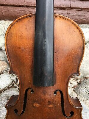 Antique Old Viola, For Restoration 15 1/4 ""