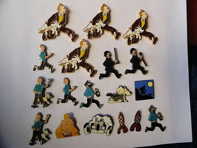 Pins Tintin Lot De 18 Pins Tintin Dernier Lot