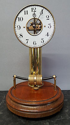 Early Bulle Type A Electro-Magnetic 800 Day Mantle or Table Clock