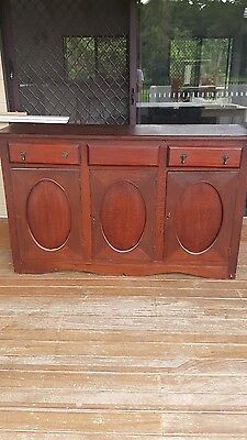 ROSEWOOD Antique sideboard