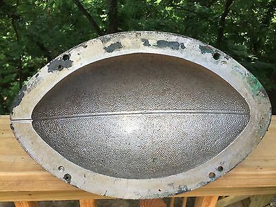 Cool Vintage Cast Aluminum Industrial Foundry Football Sports Mold