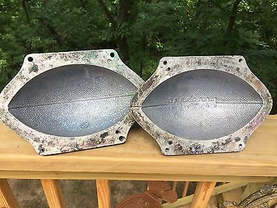 Cool Vintage Cast Aluminum Industrial Foundry Football Sports Mold #3