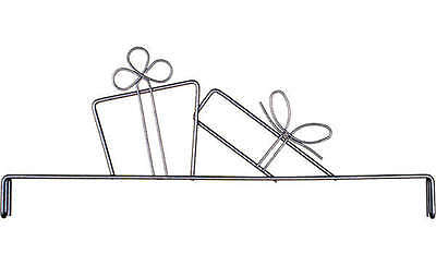 GIFTS QUILT HANGER HEADER, 12 Inch Silver From Ackfeld Manufacturing NEW