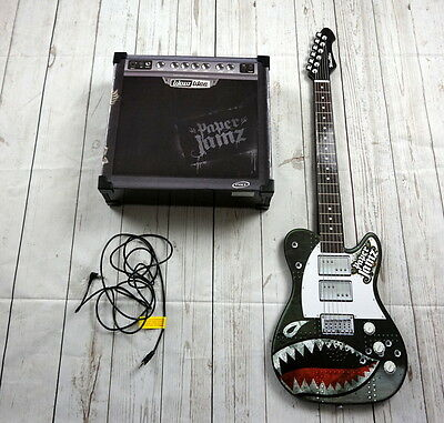 Paper Jamz Guitar & Amp By WowWee - Tested Works Great