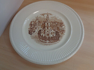 1941 Wedgwood Old London Views Plate-St.Clement Danes