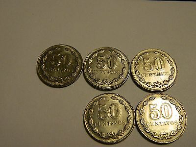 1941 Argentina 50 Centavos(1 From This Lot)------Lot #1,899