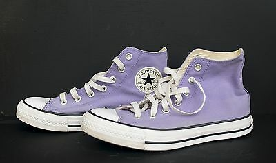 Unisex Converse Chuck Taylor All Star Purple Lavender Canvas Mens 6 Womens 8