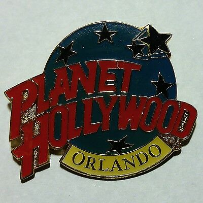 Vintage Planet Hollywood Orlando Metal Enameled Collector's Pin No Reserve