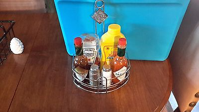 Tabasco brand table caddies (33 in total)