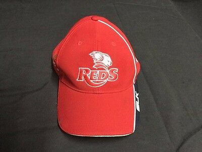 Brand New Qld  Reds Rugby Cap - Official Licence