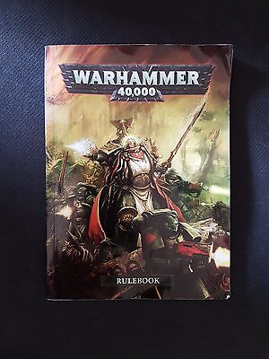 Warhammer 40k Rulebook 6th Edition - Softcover Smaller Edition