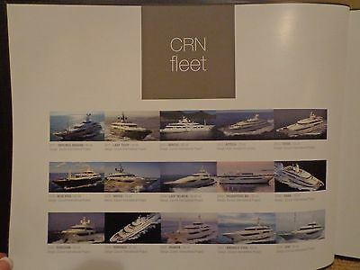 Crn Fleet Mega Yachts Color Marketing Specifications Book Romance Blue Eyes