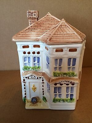 Avon Townhouse Collection Large Ceramic Canister