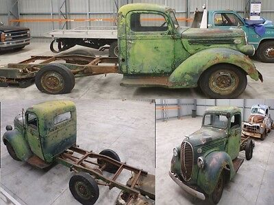 1939 Ford F1 Pickup Beer barrel F100 suit chevy hotrod F truck patina builder