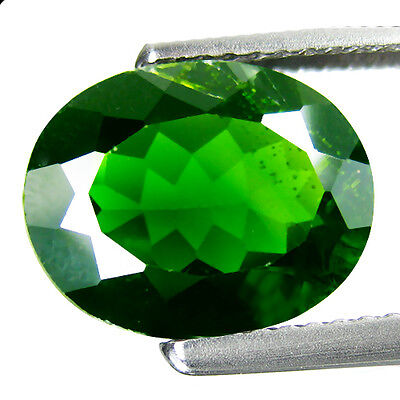3.62ct Stunning 100% Natural Best Green Chrome Diopside Loose Gemstone